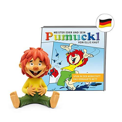 tonies Hörfigur für Toniebox, 2 Pumuckl Hörspiele: Spuk in der Werkstatt & Das verkaufte Bett, Hörspiel für Kinder ab 4 Jahren, Spielzeit ca. 49 Minuten