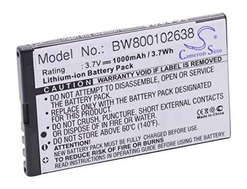 vhbw Li-Ion Akku 1000mAh (3.7V) für Handy, Smartphone, Handy Auro M401, M451, MyPhone 8920, 8920 Mark, 8920TV Mark Pro wie M401, M451.