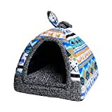 JMMTX Cat Litter Removable and Washable yurt Teddy Dog Kennel small Dog Four Seasons universal...