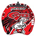 Airhead G-Force, 1-4 Rider Towable Tube for Boating, Red (AHGF-3)