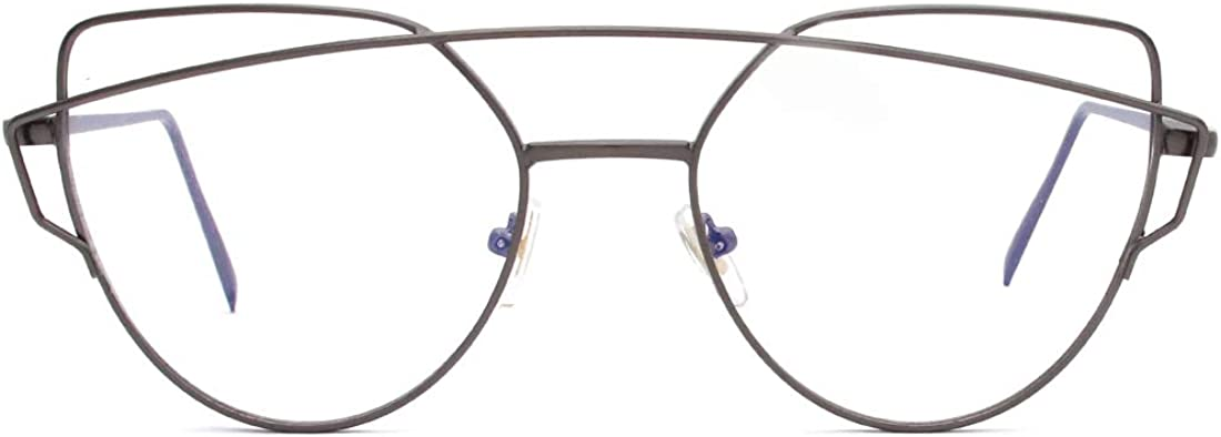 ENSARJOE Anti Blue Ray Glasses Cat Eye Eyewear Frame Blue Light