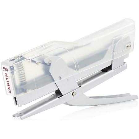 ZENITH 590 cucitrice a pinza colore Trasparente/alluminio