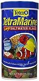 TetraMarine Saltwater Flakes 5.65 Ounces, Balanced Diet For All Marine Fish