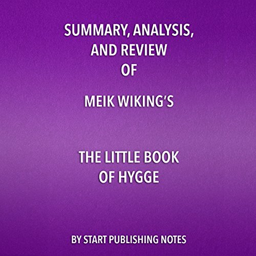 『Summary, Analysis, and Review of Meik Wiking's The Little Book of Hygge』のカバーアート