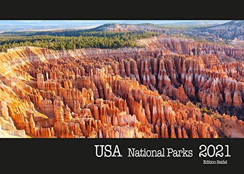 Edition Seidel USA Premium Kalender National Parks 2021 DIN A3 Wandkalender Amerika
