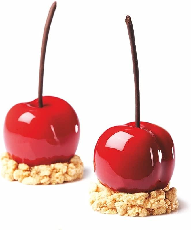 Pavoni Tutti Frutti Silicone Baking Mold Freezing Mould Cherry Peach