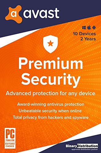 Avast Premium Security 2020 - 10 Devices - 2 Years