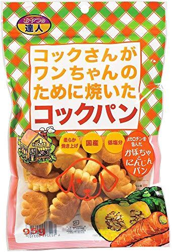 (まとめ買い)サンメイト コックパンかぼちゃにんじん味95g 【×16】