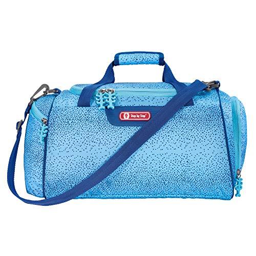 """Step by Step Sporttasche """"Wild Horse"""", blau, mit Nasswäschefach, Abnehmbarer Tragegurt, Verstellbarer Schultergurt, für Mädchen 1. Klasse, 13L"""