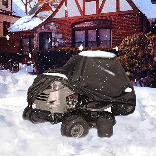 Indeedbuy Waterproof ATV Cover, Heavy Duty Kids 4 Wheeler Quad Cover Small Protection for Honda Polaris Yamaha Suzuki Kawasaki Kart (87''x39''x42'')
