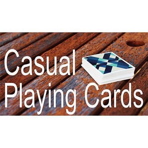 SOLOMAGIA Mazzo di Carte Casual Playing Cards by Paul Robaia - Mazzi di Carte da Gioco - Giochi di Prestigio e Magia