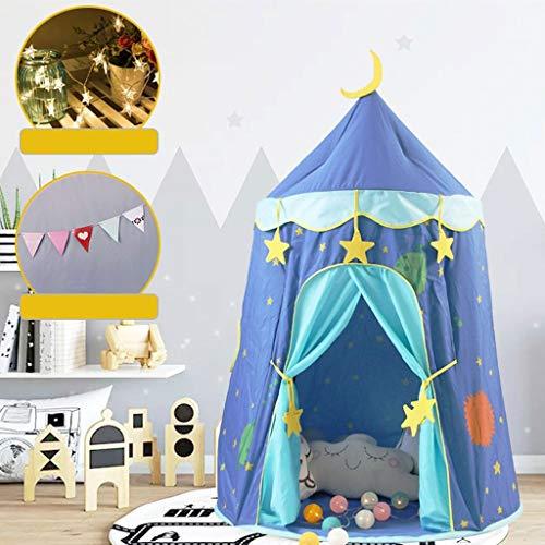 LAMPSJN Castillo niños Princesa Prince Tiendas campaña