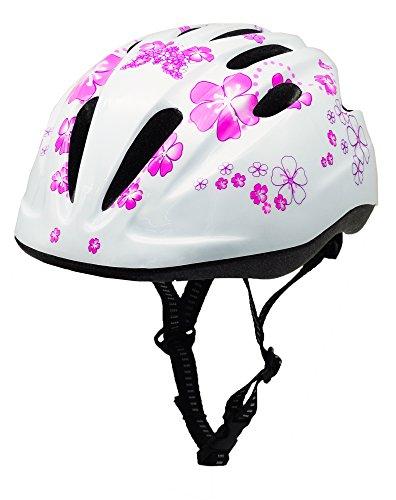 BeBeFun Pink Girl Toddler and Kids Multi-Sport Bike Super Lightweight Helmet (Angel)