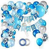 ZHMIAO Kit de arco para globos, de látex, para cumpleaños, para niñas, decoración de cumpleaños