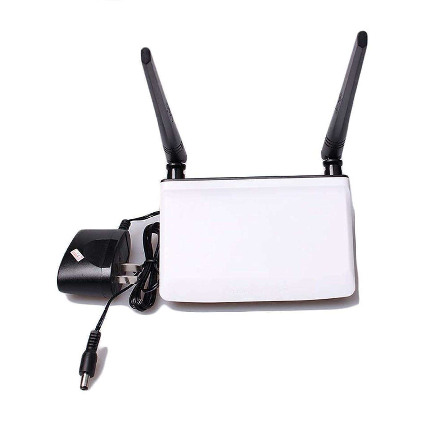 保存ラジカルエッセイ無線LANルータ300Mbpsの無線LANリピータブースターエクステンダー802.11 B/G/N RJ45 4つのポート (Color : White, サイズ : Russian Firmware)