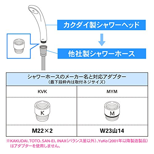 KAKUDAI(カクダイ)『低水圧用マッサージストップシャワー(356-705)』