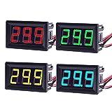 Imagen de MakerHawk 4pcs Digital DC Voltmeter