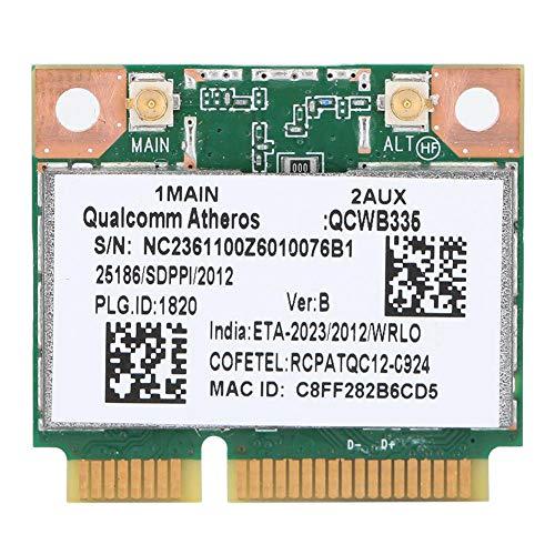 ASHATA Tarjeta de Red, Qualcomm Atheros AR9565 QCWB335 150M