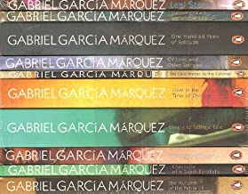 Gabriel Garcia Marquez- 10 Book set RRP £47.88: Leaf Storm, Story of a Shipwrecked Sailor, One Hundred Years of Solitude, Of Love and Other Demons, Love in the Time of Cholera, Living to Tell the Tale, Strange Pilgrims, Chronicle of a Death Foretold