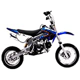 PCC MOTOR Dirt Bike COOLSTER 125CC Engine KLX Style DB214FC (Blue)