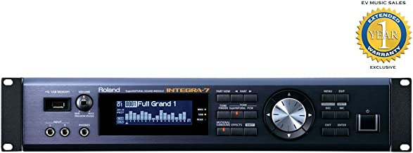 Roland INTEGRA-7 SuperNATURAL Sound Module with 1 Year Free Extended Warranty