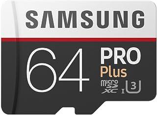 Samsung PRO Plus Micro SDXC 64GB tot 100MB/s, Class 10 U3 geheugenkaart (incl. SD-adapter)