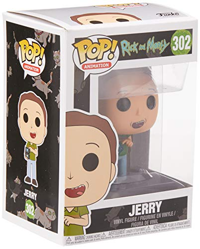 Funko Pop Jerry (Rick & Morty 302) Funko Pop Rick & Morty