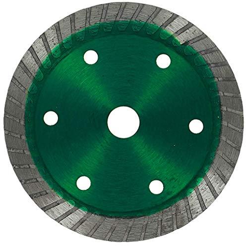PRODIAMANT Disco de corte diamante premium azulejo 75 mm x 10 mm verde compatible con BOSCH GWS 10,8-76 V-EC profesional