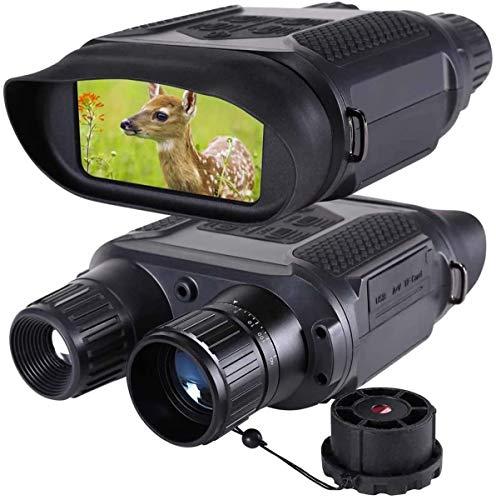 YHX Nachtsichtfernglas Für Erwachsene, 7X HD Digital Infrarot Zoom Breitbild 400M Nachtsichtkamera & Schutzbrille Zielfernrohr Für Die Jagd Camping Erkundung Der Abenteuernavigation