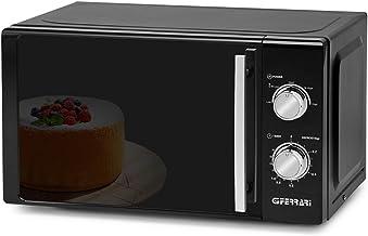 G3Ferrari g10109Allblack horno microondas con cocinado combinée–20litros