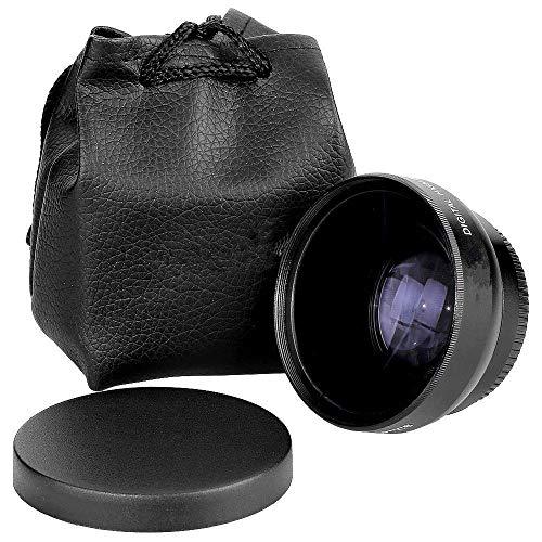 Lente - TOOGOO(R)HD 52MM 0.45x Lente Gran Angular con Lente Macro para Canon Nikon Sony Pentax los 52MM de la camara DSLR