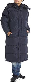 ロングコート メンズ 中綿 極暖 大きいサイズ メンズ ベンチコート 防寒着 アウター M L LL 3L 4L 5L