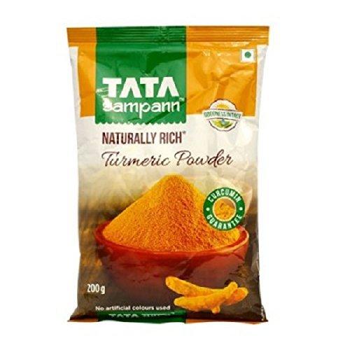 Tata Sampann Turmeric Powder Masala, 200g best spice of India - By Ethnic choice