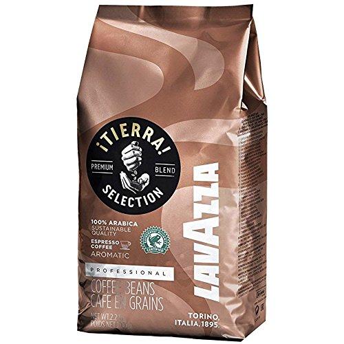 Lavazza Coffee Espresso Tierra, Whole Beans, 1000g