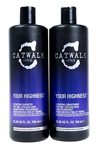 Catwalk Shampoo and Conditioner, Your Highness, 25.36 Fluid Ounce