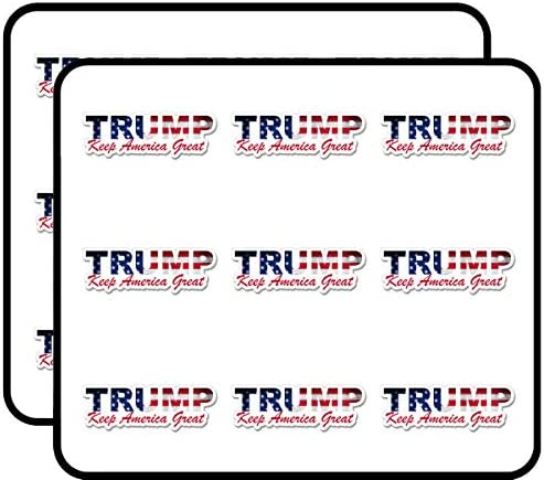 Trump USA Lettering Shaped Keep America Great MAGA KAG Sticker for Scrapbooking Calendars Arts product image