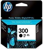 HP CC640EE 300 Cartucho de Tinta Original, 1 unidad, negro