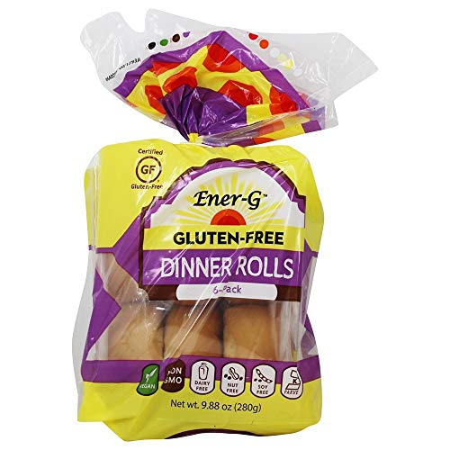 Ener-G Tapioca Dinner Rolls Gluten and Wheat Free - 9.88 oz