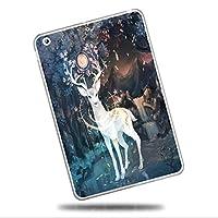 Sepikey iPad Air 2/iPad Air ケース,耐衝撃 アンチダスト キズ防止 スリム ハード TPUゲルシリコーン 耐久性 クリア スリム ハード 背面シェルケース iPad Air 2/iPad Air Case-エルク4