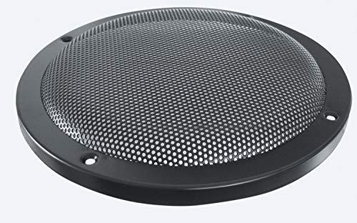 8 Stück - Lautsprecher Dekor Gitter 0772.03223, 200mm, schwarz