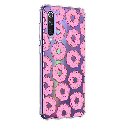 Oihxse Cover Compatibile per OnePlus 7t Pro Custodia,Trasparente Sottile in Silicone Case,Slim...