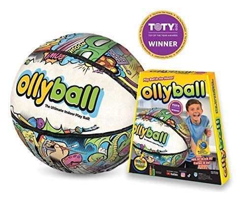 Ollyball  The Ultimate Indoor Play Ball for Kids and Parents