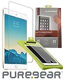 iPad Mini 5 Screen Protector, PureGear [Anti-Fingerprint] Puretek Display Protector Scratch Guard Saver [with Easy Application Tray/Roller] for Apple iPad Mini 5 (2019)