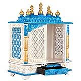 MOJO PANDA Wooden Temple/Home Temple/Pooja...