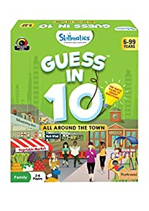 Skillmatics Guess in 10 All Around The Town - Card Game of Smart Questions for Kids & Families   Super Fun & General…