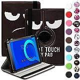 Tablet Hülle kompatibel für Alcatel 1T 10 Tasche Schutzhülle Hülle Schutz Cover 360° Drehbar 10.1 Zoll Etui, Farbe:Motiv 6