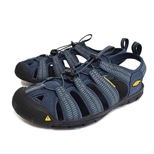 Keen Damen Clearwater CNX Geschlossene Sandalen mit Keilabsatz, Grau (Gargoyle/Norse Blue), 39 EU