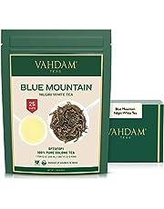 Exóticas hojas de té blancas de las Montañas Azules (25 tazas) - TÉ MÁS SANO MUNDIAL - 100% certificado. Hojas sueltas de te blanco