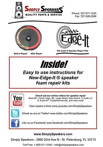 Infinity 5 Inch Foam Speaker Repair Kit FSK-5Ji (Pair)