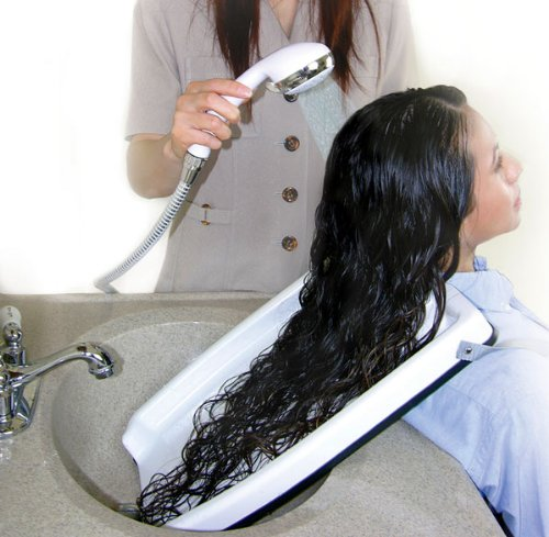 Hair Washing Tray - Our exceptionally easy-to-use EZ-SHAMPOO...